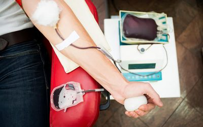 Will you be donating blood this month?